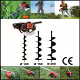 CE 52cc 3HP Petrol Post Hole Digger Drill Earth Auger