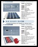 Couvre-tapis de verrouillage modulaire carré de plancher pour les places commerciales