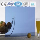 Azul/color/vidrio de flotador teñido/claro para el edificio/la decoración