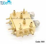 Valvola Integrated dell'unità del rame accessorio dentale del pezzo di ricambio per acqua ed aria (IV01)