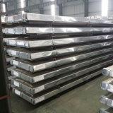 Hoja de acero galvanizada acanalada del material de construcción en bobina