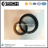 La forja del anillo del engranaje de la transmisión Gear/ABS/el anillo auto del engranaje del ABS de la rueda trasera de Hyundai Terracan/el anillo profesional del dispositivo del recorrido del excavador/forjaron los tubos de la suspensión
