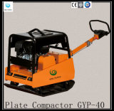 Compresor Gyp-40 de la placa del pisón de Honda Gx390 de la gasolina