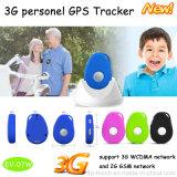 Rastreador de GPS portátil de rede 3G com comunicação bidirecional (EV-07W)