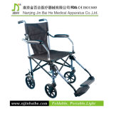 Светлое Foldable Manual Wheelchair для The Disabled и престарелого