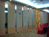 China Acoustic Interior Decorative Folding Screen Wooden Partition Wall für Library