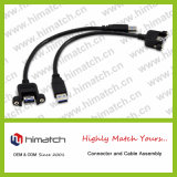 Cable USB 2.0 A macho a B macho
