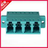 10G OM3 de Optische Adapter van de Vierling Aqua van LC