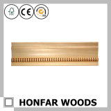 Molde de madeira da coroa do material de construção por atacado da fábrica