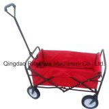 أحمر يد فولاذ صامد للصدإ يطوي حامل متحرّك عربة لأنّ أطفال