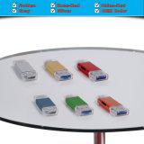 Adaptador del lector de tarjetas del TF para USB-C, USB a y el micr3ofono