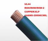 UL44 Isolatie xhhw-2 van Conductorxlpe van het koper 600V 12AWG-2000kcmil