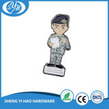 Distintivo della polizia del metallo di Pin personalizzato prezzo poco costoso