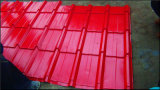 Главное качество покрасило застекленный стальной крен плитки крыши формируя машину