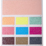 tela robusta do Glitter do couro do PVC 3D para o papel de parede, sapatas, sacos, Upholstery