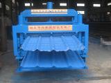 機械を形作る二重層の鋼鉄タイル