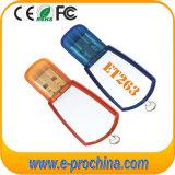 Disco instantâneo do USB do plástico feito sob encomenda do logotipo