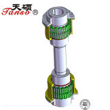 China-Berufsfertigung-materielle Rasterfeld-Stahlkupplung
