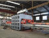 Chaîne de production chaude de placage de presse de cycle court semi-automatique