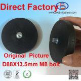 Directe Met een laag bedekte Fabriek van het Rubber van het Neodymium/Deklaag/het Behandelen van de Pot/de Tang van de Magneet