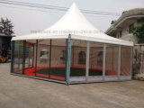 tente octogonale en verre de pagoda de diamètre de 16m pour la personne 150