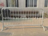 Напольный гальванизированный барьер движения/гальванизированная временно загородка