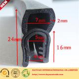 Selo de borracha EPDM para faixa de vedação de gabinete / borracha