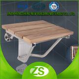 Presidenze della toletta dell'acquazzone di piegatura di legno della stanza da bagno per gli handicappati