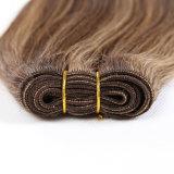Extensões do cabelo humano de Remy do destaque, trama do cabelo humano