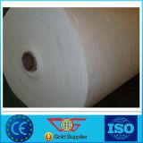 Tissu non-tissé de géotextile perforé par pointeau blanc de polypropylène et gris