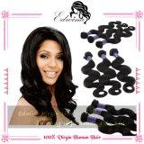 Индийские человеческие волосы Remy продуктов волос оптовой продажи объемной волны волос Virign