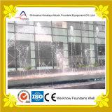 Fontaine d'eau extérieure de danse avec les fléaux d'eau sautants