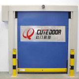 Пищевая промышленность двери завальцовки PVC автоматической ткани высокоскоростная промышленная использовала