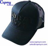 Шлем водителя грузовика шлема сетки сини военно-морского флота с логосом вышивки 3D