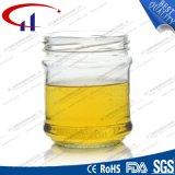 350ml de super Witte Duidelijke Kruik van de Honing van het Glas (CHJ8019)
