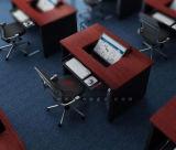 Tabela esperta da mesa do computador da aleta de madeira reversível da escola do estudante