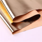 Elastic와 Shiny 연약한 PU Garment Leather