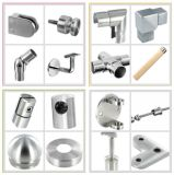 Accessori della balaustra/sfera di vetro dell'estremità del montaggio/montaggio del corrimano/acciaio inossidabile