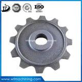 CNC (ISO9001를 가진 모래 주물 벨브 부속 기계로 가공 및 열처리: 2008년)