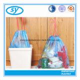 Bolso de basura del lazo del HDPE para la cocina del hotel