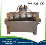 Multi macchine di CNC di asse della macchina per incidere di CNC dell'asse di rotazione di multi della testa di CNC del router prezzi della macchina 4