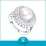 Soem Accepted Pearl 925 Sterling Silver Ring Auf Lager (R-0395)