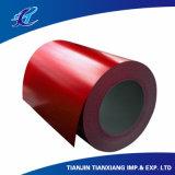 Катушка толя плоских продуктов Ral3002 Prepainted основным веществом стальная