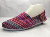 方法Espadrillesのキャンバスの多彩な靴(23LG1703)
