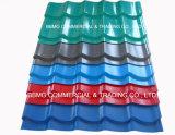 Customed強い波形亜鉛屋根ふきは波形アルミニウム屋根ふきシートを広げる
