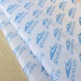 Personnalisé estampé enveloppant le papier de soie de soie du papier de soie de soie 17GSM