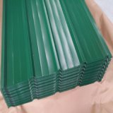 屋根ふき材料のためのDx51dの熱い浸された電流を通された鋼鉄コイルカラーによって塗られる鋼鉄