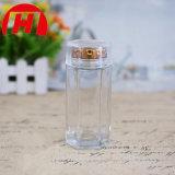 Frascos de vidro do comprimido do frasco da cápsula de Transparents