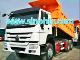 Sinotruk HOWO 6X4 380HP 25tonのダンプトラック