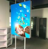 Double Side ou Single Side Customized Fabric Light Box